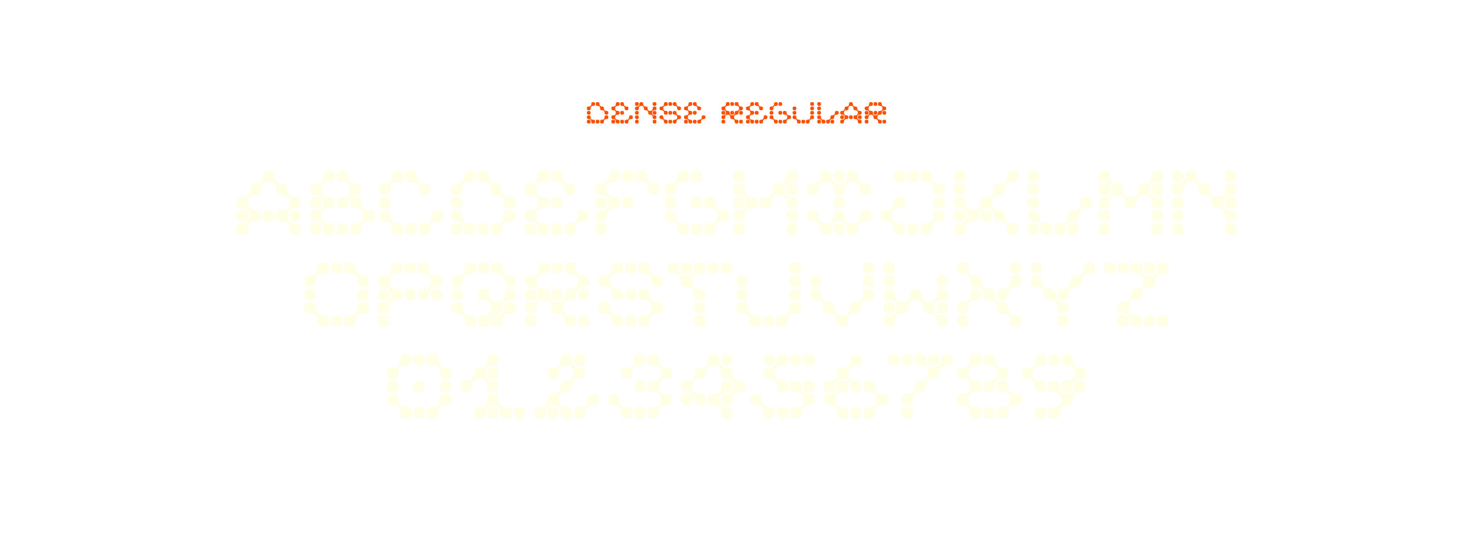 ARK-ES Typeface by Stuedio – Dense Regular