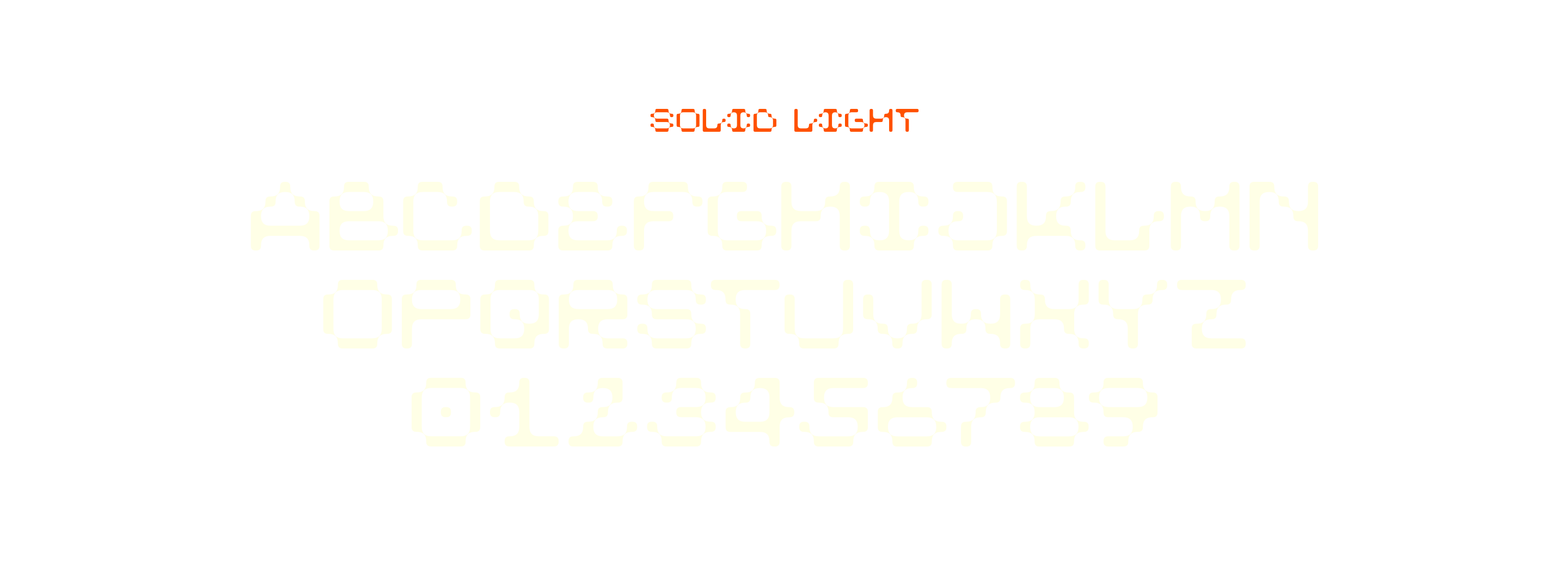 ARK-ES Typeface by Stuedio – Solid Light
